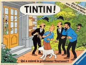 Tintin ! Qui a enlevé le professeur Tournesol ?