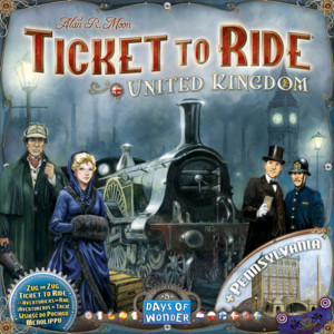 Ticket to Ride: The United Kingdom