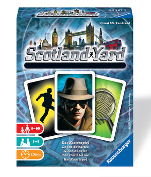 Scotland Yard - le jeu de cartes