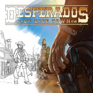 Carnet d'illustrateur: Desperados of dice town