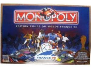Monopoly dition coupe du monde france 98 d tails jeu de soci t tric trac - France 98 coupe du monde ...