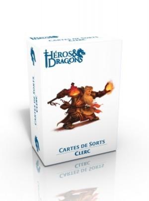 Héros & Dragons - Cartes de sorts - Clerc