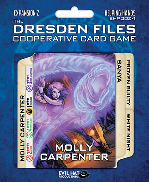 The Dresden Files Cooperative Card Game - Helping Hands