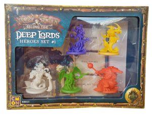 Rum & Bones Second Tide : Deep Lords - Heroes Set #1