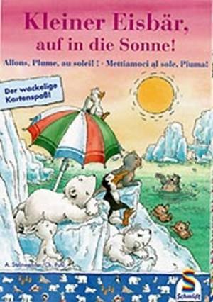Kleine Eisbär auf in die Sonne