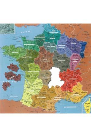 Jeu des Régions - Carte de France des Départements