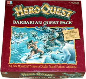 Heroquest : Barbarian quest pack