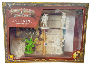 Rum & Bones Second Tide : Captains - Promos Set