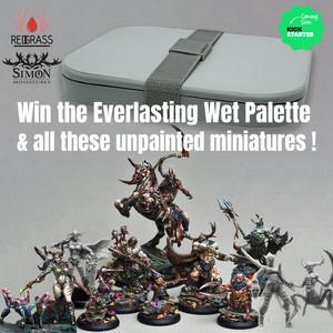 Gewinnspiel : Everlasting Wet Palette und Miniaturen zu gewinnen