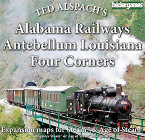 AoS: Alabama Railways, Antebellum Louisiana & Four Corners