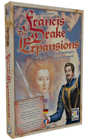 Francis Drake - Les extensions