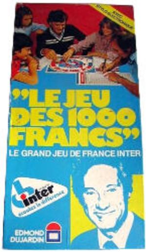 Le Jeu des 1000 francs