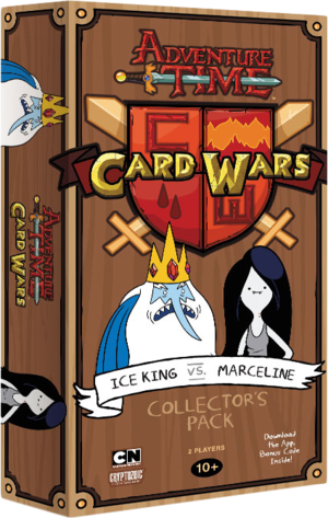 Adventure Time Card Wars : Ice King VS Marceline