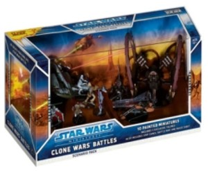 Star Wars Miniatures : Scenario Pack : Clone Wars - Battles