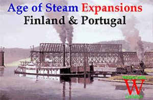 Age of Steam : Finland & Portugal