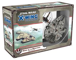 X-Wing : Jeu de Figurines - Héros de la résistance