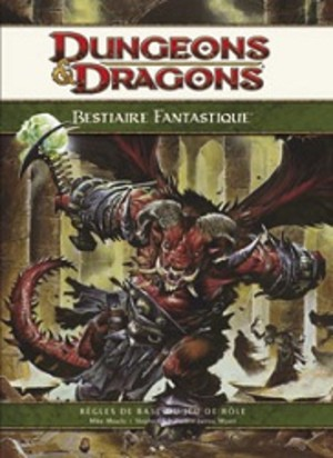 Dungeons & dragons 4 : Bestiaire Fantastique