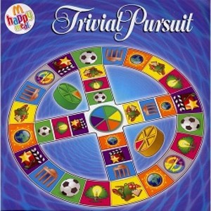 trivial pursuit m happy meal photos vid os 3 jeu. Black Bedroom Furniture Sets. Home Design Ideas