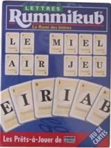 Rummikub Lettres - jeu de cartes