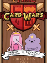 Adventure Time Card Wars : Princess Bubblegum VS Lumpy Space Princess