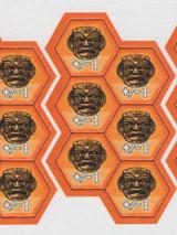 Bora Bora - Orange God Tiles