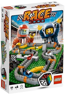 La course automobile selon Lego