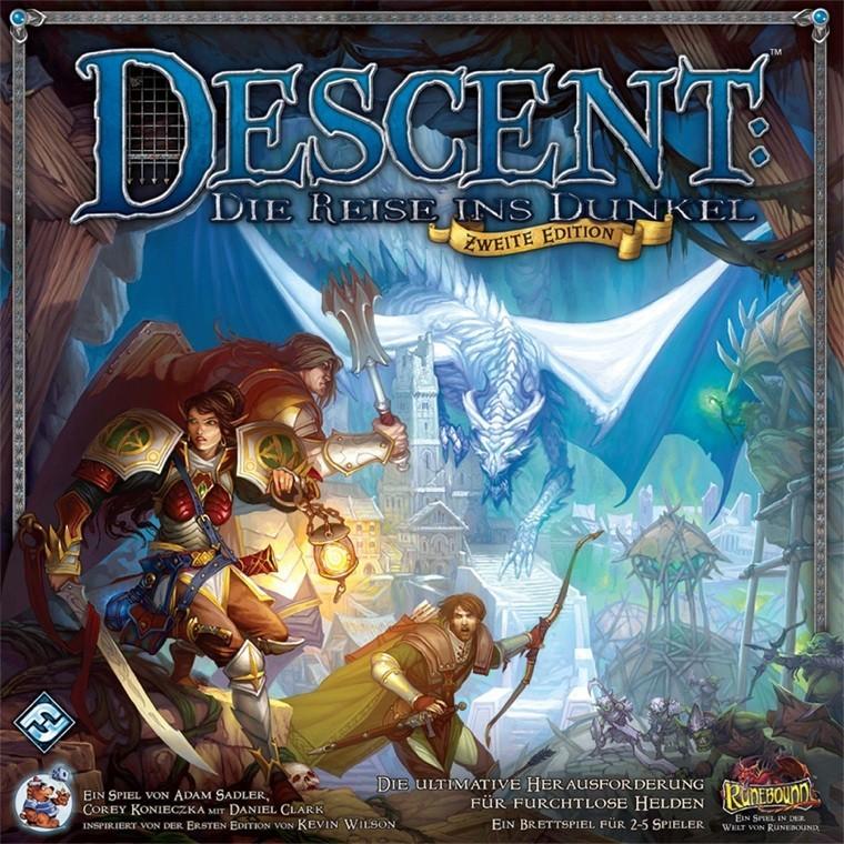 Descent 2. Edition: Die Reise ins Dunkel