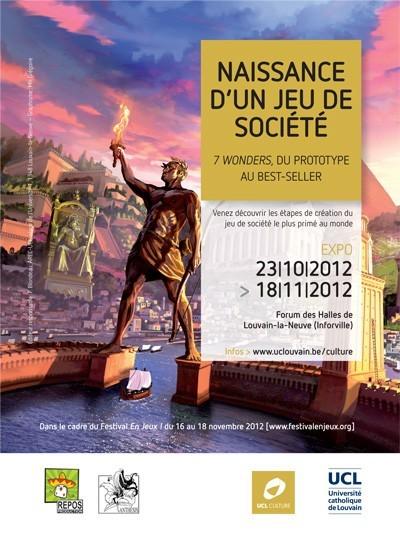 <p>Une Expo 7 Wonders à Louvain la Neuve et ailleurs....</p>