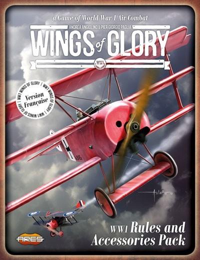 Wings Of Glory : Pack de règles et d'accessoires WW1 est là. Enfin revenu...