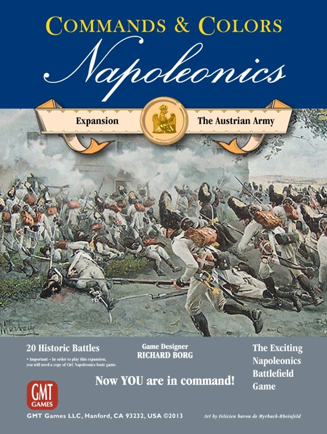 Commands & Colors : Napoleonics Expansion 3 : The Austrian Army