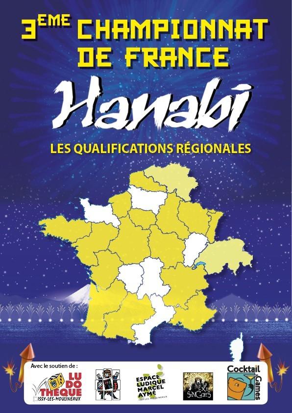 Hanabi, 21 tournois qualificatifs pour le championnat de france