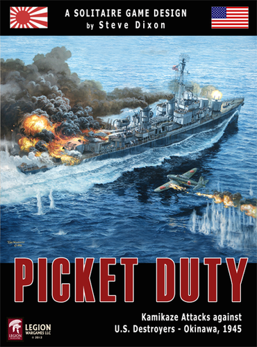 Picket Duty : Kamikaze Attacks Against US Destroyers