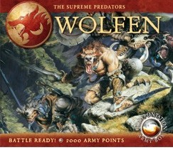 Confrontation Army Box : Wolfen