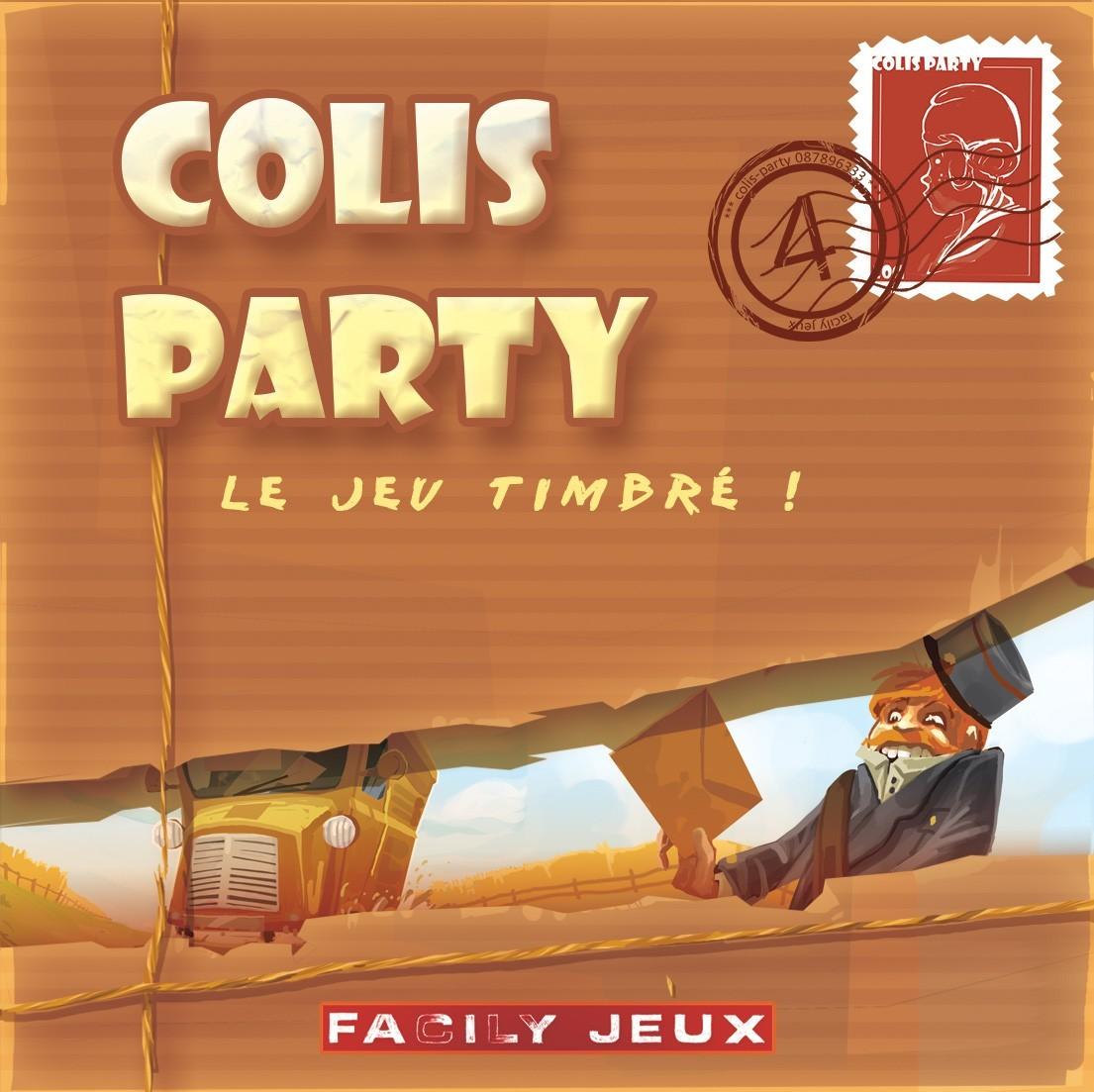 Colis Party, le facteur tape 3 fois