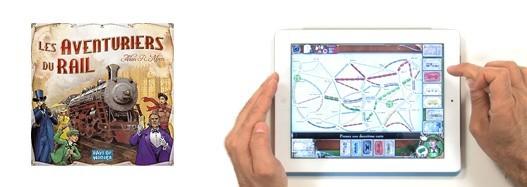 Les Aventuriers du Rail sur iPad