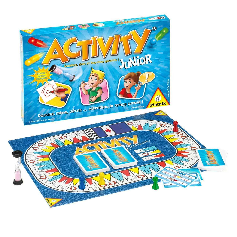 Les vacances arrivent… Activity Junior aussi !
