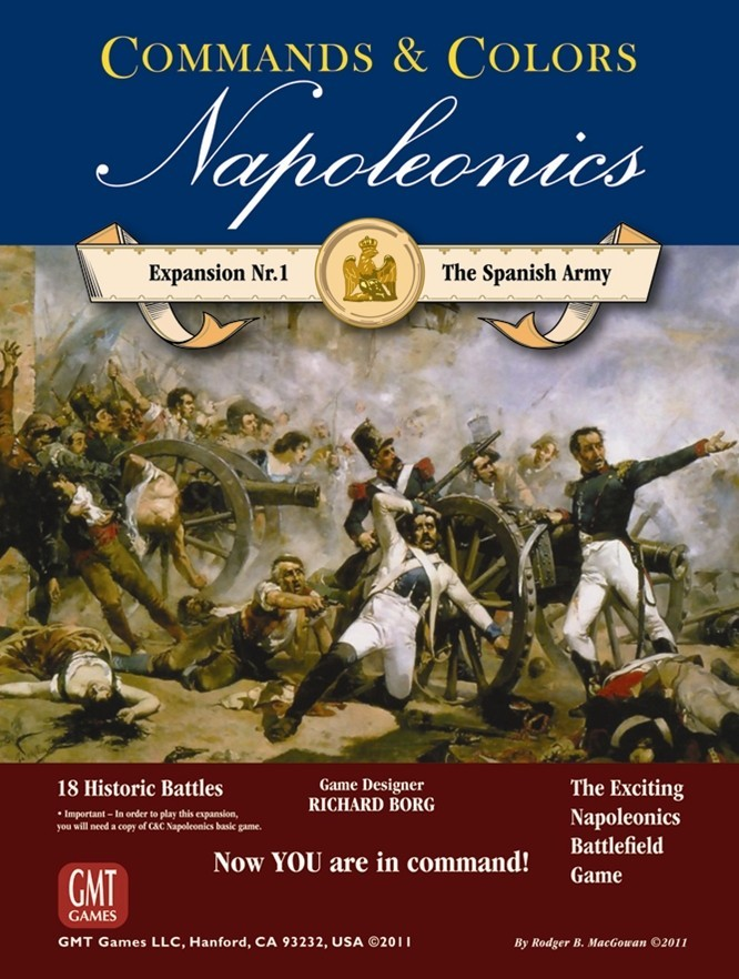 Commands & Colors : Napoleonics Expansion 1: The Spanish Army